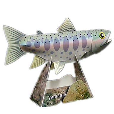3D - Puzzle Papiermodelle Modellbausätze Fische Heimwerken Kinder Unisex Geschenk