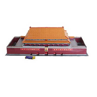 3D - Puzzle Papiermodel Modellbausätze Berühmte Gebäude Chinesische Architektur Architektur Einrichtungsartikel Heimwerken Klassisch