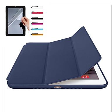 Capinha Para Apple iPad Mini 4 iPad Mini 3/2/1 iPad 4/3/2 iPad Air 2 iPad Air Magnética Auto Dormir/Despertar Capa Proteção Completa Côr