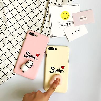 voordelige iPhone-hoesjes-hoesje Voor iPhone 7 / iPhone 7 Plus / iPhone 6s Plus iPhone 7 Plus / iPhone 7 / iPhone 6s Plus Patroon / DHZ / squishy Achterkant Woord / tekst Hard PC