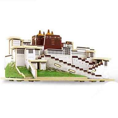 Robotime قطع تركيب3D تركيب النماذج الخشبية بناء مشهور معمارية 3D اصنع بنفسك خشب كلاسيكي للجنسين هدية