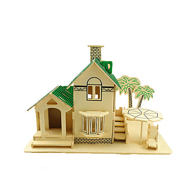 3D - Puzzle Holzpuzzle Steckpuzzles Holzmodell Modellbausätze Spielzeuge Chinesische Architektur 3D Simulation Hölzern Holz Kinder Stücke