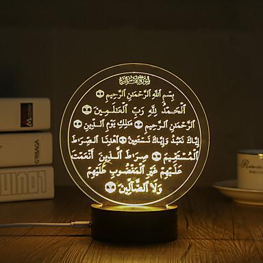 Lampversiering LED Night Light-0.5W-USB Decoratief - Decoratief
