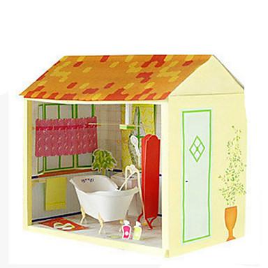 3D - Puzzle Papiermodel Papiermodelle Modellbausätze Quadratisch Heimwerken Hartkartonpapier Klassisch Kinder Jungen Unisex Geschenk