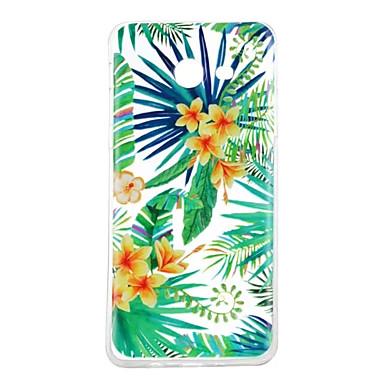 hoesje Voor Samsung Galaxy J5 (2016) J3 (2016) Patroon Achterkantje Bloem Zacht TPU voor J5 (2016) J3 (2016)