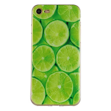hoesje Voor Apple iPhone 7 Plus iPhone 7 Patroon Achterkant Fruit Zacht TPU voor iPhone 7 Plus iPhone 7 iPhone 6s Plus iPhone 6s iPhone 6