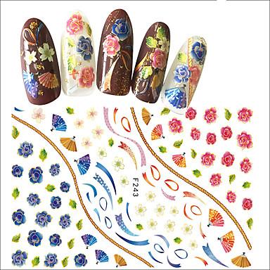 1 Nagelkunst sticker Patroon Meisjes & jonge vrouwen 3D DHZ-benodigdheden make-up Cosmetische Nagelkunst ontwerp