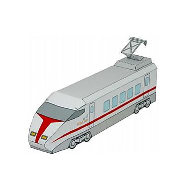 Spielzeug-Autos 3D - Puzzle Papiermodel Flugzeug Schleppe Schiff Bus Heimwerken Klassisch Züge Polizeiauto Rettungswagen Unisex Geschenk