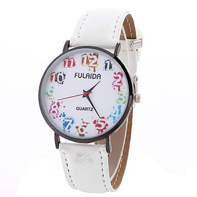 Damen Einzigartige kreative Uhr Armbanduhr Modeuhr Sportuhr Armbanduhren für den Alltag Quartz Leder Band Charme Luxus Kreativ Freizeit