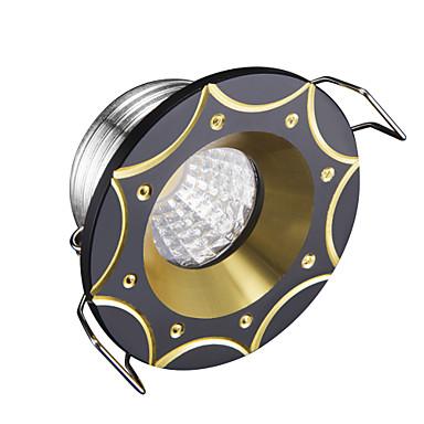 3W LED-uri Intensitate Luminoasă Reglabilă Lumini Recessed Alb Rece 220V