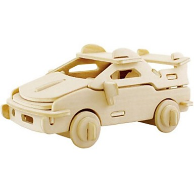 Robotime قطع تركيب3D تركيب النماذج الخشبية سيارة أسد 3D اصنع بنفسك خشب الخشب الطبيعي 6 سنوات فما فوق