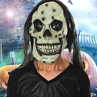 Halloween full face horror grimas masker maskerade kostuum partij bewegend thema jurk zaagmasker gezicht kap