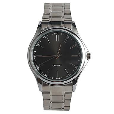 Herrn Quartz Armbanduhr Japanisch / Edelstahl Band Freizeit Modisch Silber