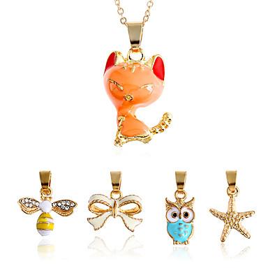 Damen Schmuckset Ketten Halskette Geometrisch Modisch Multi-Wege Wear Euramerican Simple Style Geometrische Form FürAlltagskleidung