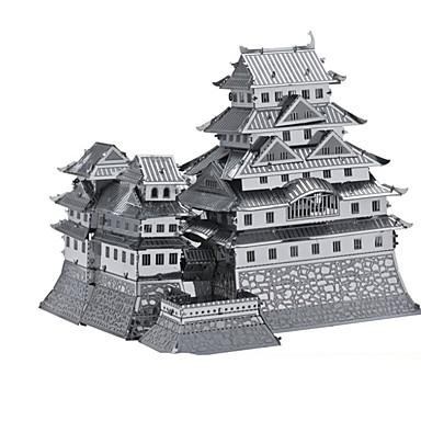 Spielzeug-Autos 3D - Puzzle Holzpuzzle Metallpuzzle Spielzeuge Rechteckig Panzer Burg Berühmte Gebäude Architektur 3D Aluminium Metal