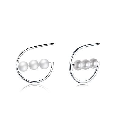 Pentru femei Cercei Imitație de Perle Personalizat Lux Γεωμετρικά Design Circular Design Unic Stil Atârnat Clasic Vintage Boem De Bază