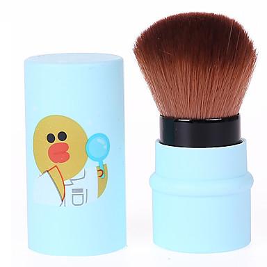 1pc Puderpinsel Künstliches Haar Geruchsfrei N/A Plastik Gesicht