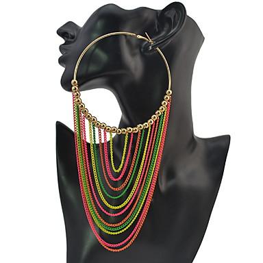 Damen Tropfen-Ohrringe Personalisiert Luxus Geometrisch Einzigartiges Design Anhänger Stil Quaste Klassisch Böhmische Grundlegend Sexy