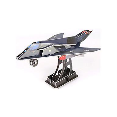 قطع تركيب3D ألعاب طيارة المقاتل اصنع بنفسك ورق عالى الجودة غير محدد للجنسين قطع