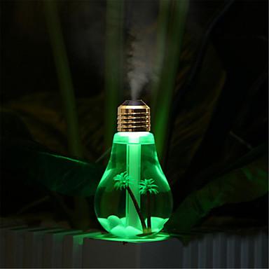 Altele Decorațiuni Luminoase LED-uri de lumină de noapte-2W-USB Rezistent la apă Decorativ Schimbare - Culoare umidificat - Rezistent la