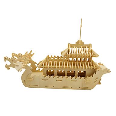 Puzzle 3D Puzzle Modelul lemnului Jucarii Navă 3D Reparații Simulare Lemn Ne Specificat Bucăți