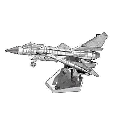 3D-puzzels Metalen puzzels Vliegtuig 3D Inrichting artikelen DHZ Kromi Metaal Klassiek Unisex Geschenk