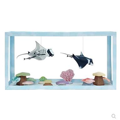 قطع تركيب3D نموذج الورق أشغال الورق مجموعات البناء سمك شبح محاكاة اصنع بنفسك كلاسيكي للجنسين هدية