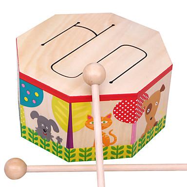 AOERFU أحجار البناء مجموعة طبول ألعاب تربوية آلات موسقية آلعاب أدوات الموسيقى مجموعة طبول للأطفال
