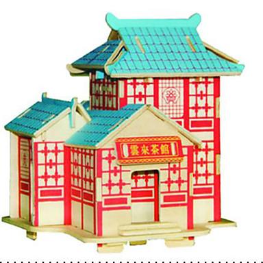 Sets zum Selbermachen 3D - Puzzle Holzpuzzle Spielzeuge Berühmte Gebäude Architektur 3D Heimwerken keine Angaben Stücke