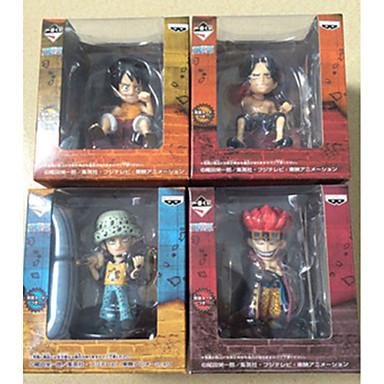 Anime Action Figures geinspireerd door One Piece Monkey D. Luffy PVC 7cm CM Modelspeelgoed Speelgoedpop Unisex