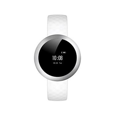 Heren Slim horloge Modieus horloge Digitaal Waterbestendig Rubber Band Zwart Wit