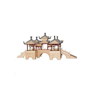 Puzzle 3D Puzzle Modele de Lemn Clădire celebru Arhitectura Chineză Reparații De lemn Lemn Stil Chinezesc Pentru copii Unisex Cadou