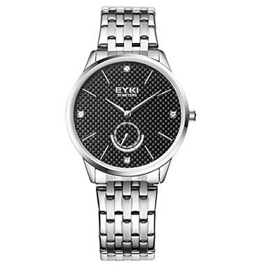 Dames Modieus horloge Kwarts Roestvrij staal Band Zilver