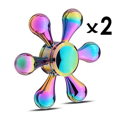 Spinner antistres mână Spinner Titirez Jucarii Jucarii Ameliorează ADD, ADHD, anxietate, autism Birouri pentru birou Focus Toy Stres și