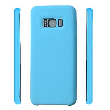 Hülle Für Samsung Galaxy S8 Plus S8 Stoßresistent Rückseite Volltonfarbe Weich Silikon für S8 Plus S8