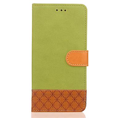 hoesje Voor Huawei P9 Lite Huawei Huawei P8 Lite Kaarthouder Portemonnee met standaard Flip Reliëfopdruk Volledig hoesje Effen Kleur Hard