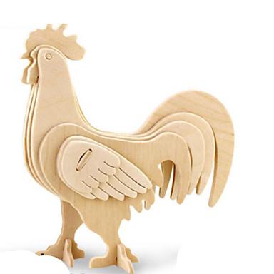 Puzzle 3D Puzzle Puzzle Metal Modelul lemnului Μοντέλα και κιτ δόμησης Jucarii Animal 3D Reparații Lemn Lemn natural Ne Specificat Bucăți