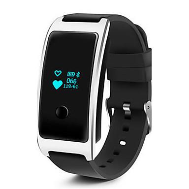 Herrn Smart Watch Modeuhr digital Silikon Band Schwarz