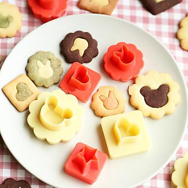 8-delig Cake Moulds Anderen Dagelijks gebruik Kunststoffen Baking Tool