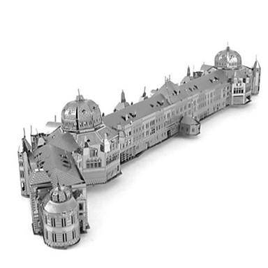 لعبة سيارات قطع تركيب3D تركيب تركيب معدني دائري دبابة قصر بناء مشهور أدوات الموسيقى معمارية 3D ألمنيوم معدن آلات موسقية آلعاب للأطفال