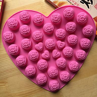 Cake Moulds Nieuwigheid Hartvormig Voor kookgerei voor Chocolade voor Cake DHZ Baking Tool Hoge kwaliteit Noviteit