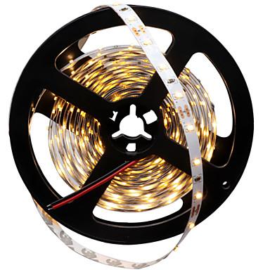HKV 300 LED-uri Alb Cald Alb Ce poate fi Tăiat Auto- Adeziv DC 12V