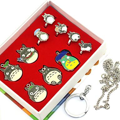 Meer Accessoires geinspireerd door Mijn buur Totoro Ran Mao Anime Cosplayaccessoires Ringen Legering