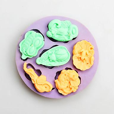 Cake Moulds voor Candy Siliconen Verjaardag Nieuwjaar Thanksgiving