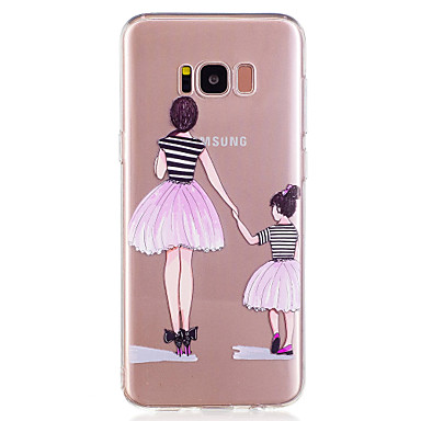 Maska Pentru Samsung Galaxy S8 Plus S8 Model Carcasă Spate Femeie Sexy Moale TPU pentru S8 S8 Plus S7 edge S7 S6 edge S6