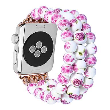 Uhrenarmband für Apple Watch Series 3 / 2 / 1 Apple Schmuckdesign Keramik Handschlaufe