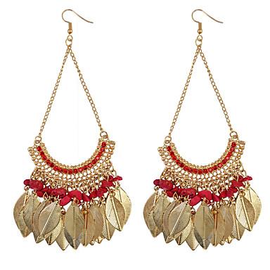 Dames Druppel oorbellenBasisontwerp Uniek ontwerp Hangende stijl Bergkristallen Meetkundig Vriendschap leuke Style Euramerican Turks