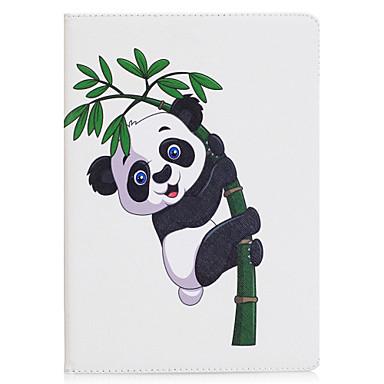 hoesje Voor Apple iPad Mini 4 iPad Mini 3/2/1 Origami Volledig hoesje Vlinder Panda Hard PU-nahka voor iPad Mini 4 iPad Mini 3/2/1 Apple