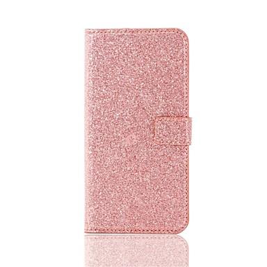 Für iPhone X iPhone 8 Hüllen Cover Geldbeutel Kreditkartenfächer Handyhülle für das ganze Handy Hülle Glänzender Schein Hart Kunst-Leder