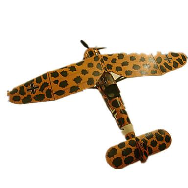 3D - Puzzle Papiermodel Quadratisch Flugzeug Aufklärer Heimwerken Hartkartonpapier Jungen Unisex Geschenk